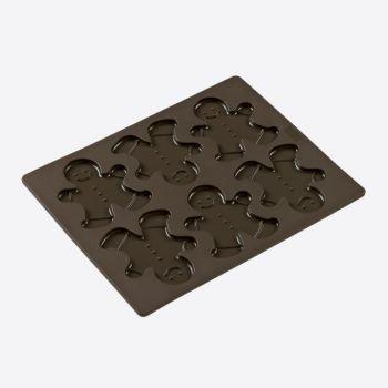 Lurch Flexiform bakvorm voor 6 peperkoeken mannetjes 24x30cm