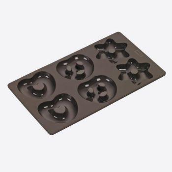Lurch Flexiform bakvorm voor 6 peperkoeken 17x30cm
