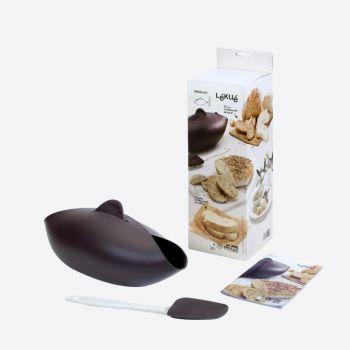 Lékué gesloten bakvorm uit silicone voor brood met spatel 28x23x13cm
