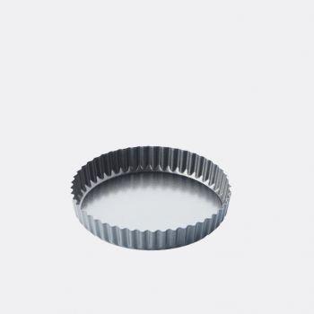 Point-Virgule geribde taart-/quichevorm - anti-aanbaklaag/losse bodem ø 20cm