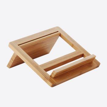 Point-Virgule tablet-/kookboekstaander uit bamboe 24x26.5x2cm