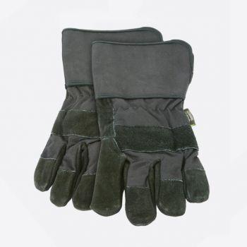 Point-Virgule set van 2 barbecue handschoenen zwart 32x15cm