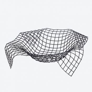 Point-Virgule Wire Envelope mand zwart 34x34x8.5cm