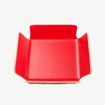 Point-Virgule broodmand rood 29x29x8cm