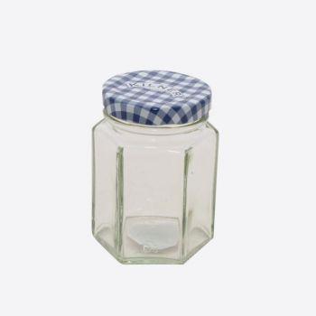 Kilner zeshoekige glazen bokaal met schroefdeksel 110ml (12st./disp.)