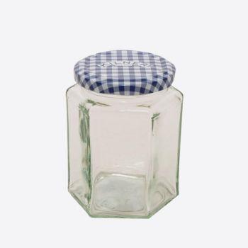 Kilner zeshoekige glazen bokaal met schroefdeksel 280ml (12st./disp.)