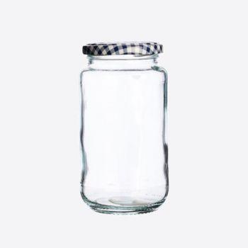 Kilner ronde glazen bokaal met schroefdeksel 580ml (per 12st.)