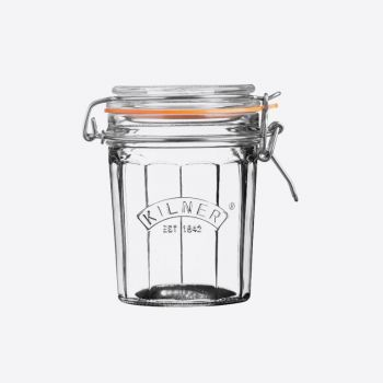 Kilner gefaceteerde glazen bokaal met beugelsluiting 450ml