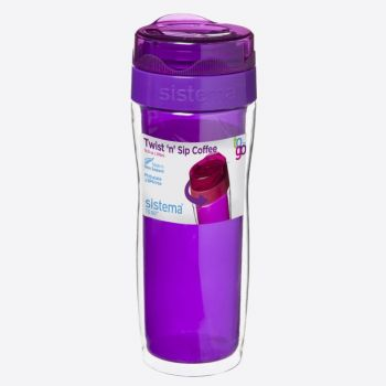Sistema To Go koffiebeker groot Twist n Sip 490ml (6 ass.)