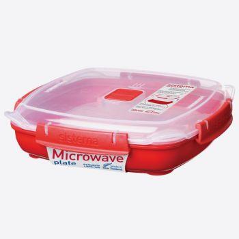 Sistema Microwave bord medium 880ml (per 6st.)