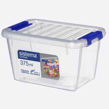 Sistema Storage opbergdoos met deksel 375ml (per 6st.)