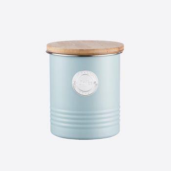 Typhoon Living voorraaddoos voor koffie lichtblauw ø 12cm H 14cm