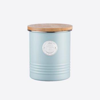Typhoon Living voorraaddoos voor suiker lichtblauw ø 12cm H 14cm