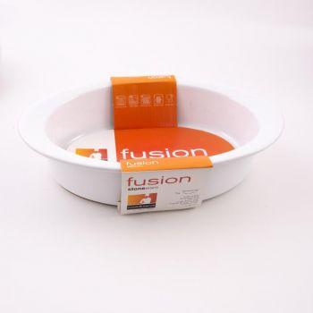 Vista Alegre Fusion ovalen schotel wit 29x20x6cm