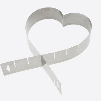 Westmark verstelbare bakvorm hart uit rvs 45x5x1.3cm