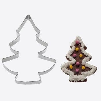 Westmark uitsteekvorm uit rvs kerstboom 12.1x8.6x2.2cm