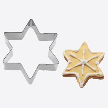 Westmark uitsteekvorm uit rvs ster 8.5x3.7x2.2cm