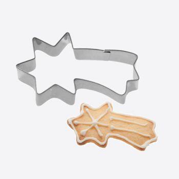 Westmark uitsteekvorm uit rvs vallende ster 7.3x4.1x2.2cm