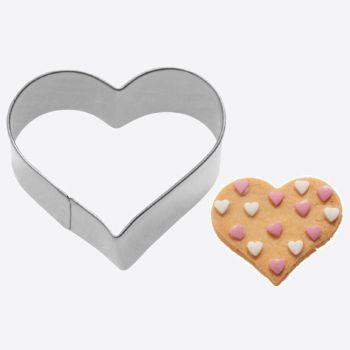 Westmark uitsteekvorm uit rvs hart 6x5.8x2.2cm