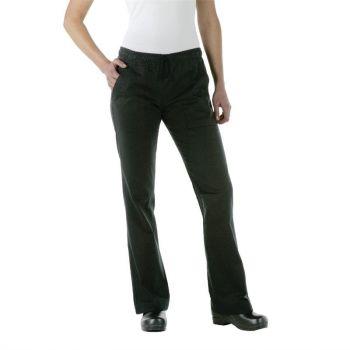 Chef Works Executive dames pantalon zwart L