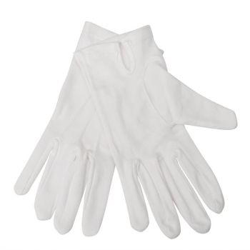 Dames serveerhandschoenen wit L