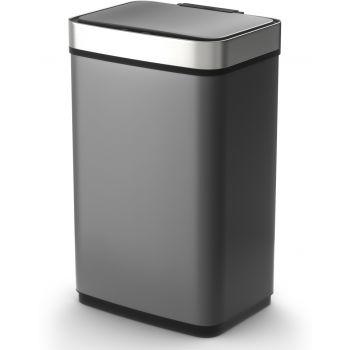 Tower Afvalemmer - Recycler - Sensor Pro - 60 liter - Titanium