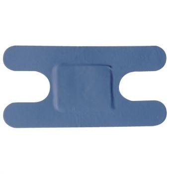 Blauwe pleisters assorti