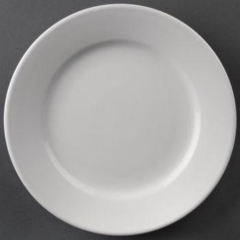 Athena Hotelware borden met brede rand 16.5cm