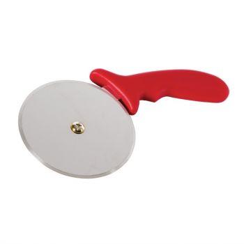 Vogue pizzawiel rood 10cm