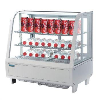 Polar C-serie koelvitrine 100L wit