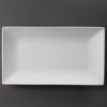 Olympia Whiteware rechthoekige serveerschalen 31x18cm