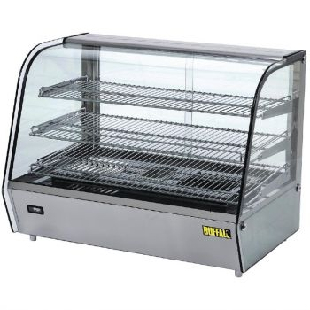Buffalo warmhoudvitrine 160L