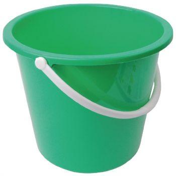 Jantex kunststof emmer 10L groen