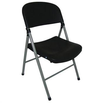 Bolero opklapbare stoelen zwart