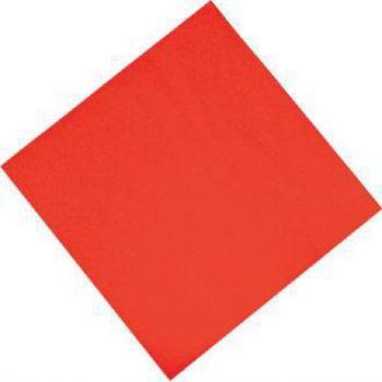 Fasana professionele tissueservetten rood 33x33cm