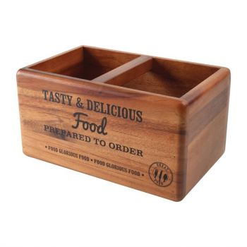 T&G Woodware tafelorganiser met krijtbord