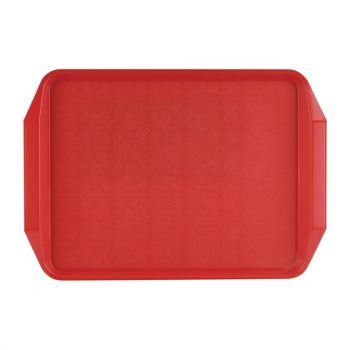 Roltex dienblad rood 43.5x30.5cm