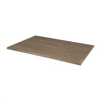 Bolero rechthoekig tafelblad wenge