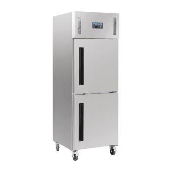 Polar G-serie Gastro 1-deurs koeling met gedeelde deur 600L