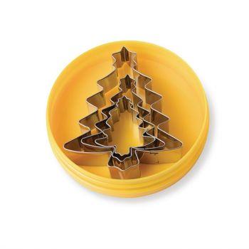 Schneider stekers kerstbomen glad