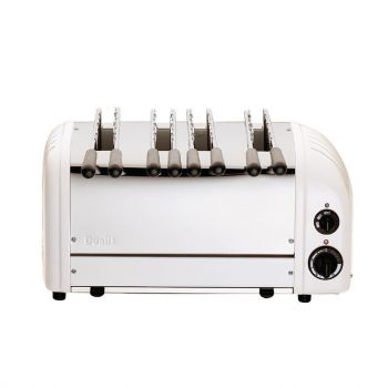 Dualit sandwich toaster 4 sleuven wit 41034