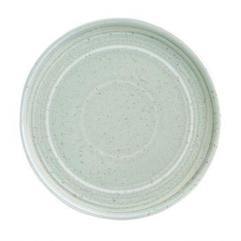 Olympia Cavolo plat rond bord zacht groen 18cm