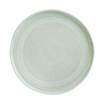 Olympia Cavolo plat rond bord zacht groen 27cm