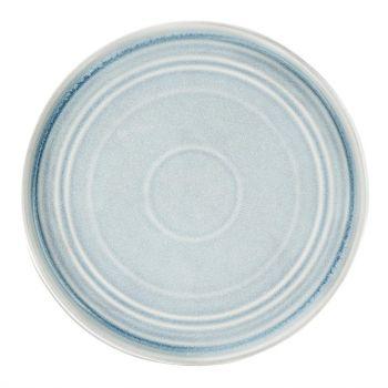 Olympia Cavolo plat rond bord ijsblauw 27cm