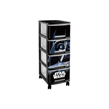 Curver Star Wars Ladesysteem  4x10l 26x35xh68cm