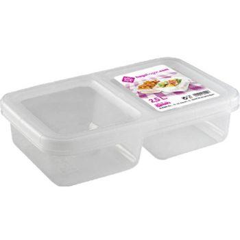 Hega Hogar Niza Lunchbox 2-vaks 2.5l