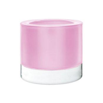 Cosy @ Home Theelichtglas Set12 Perle Roze 6x7cm