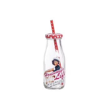 Cosy & Trendy Melkflesje 'housewife Life' D6.5xh15cm