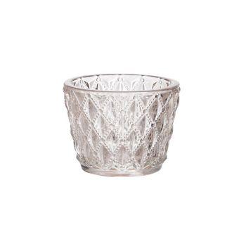 Cosy @ Home Theelichtglas Mango D7,5xh6cm