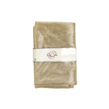 Cosy @ Home Decostof Glamour Goud 1.5x3m